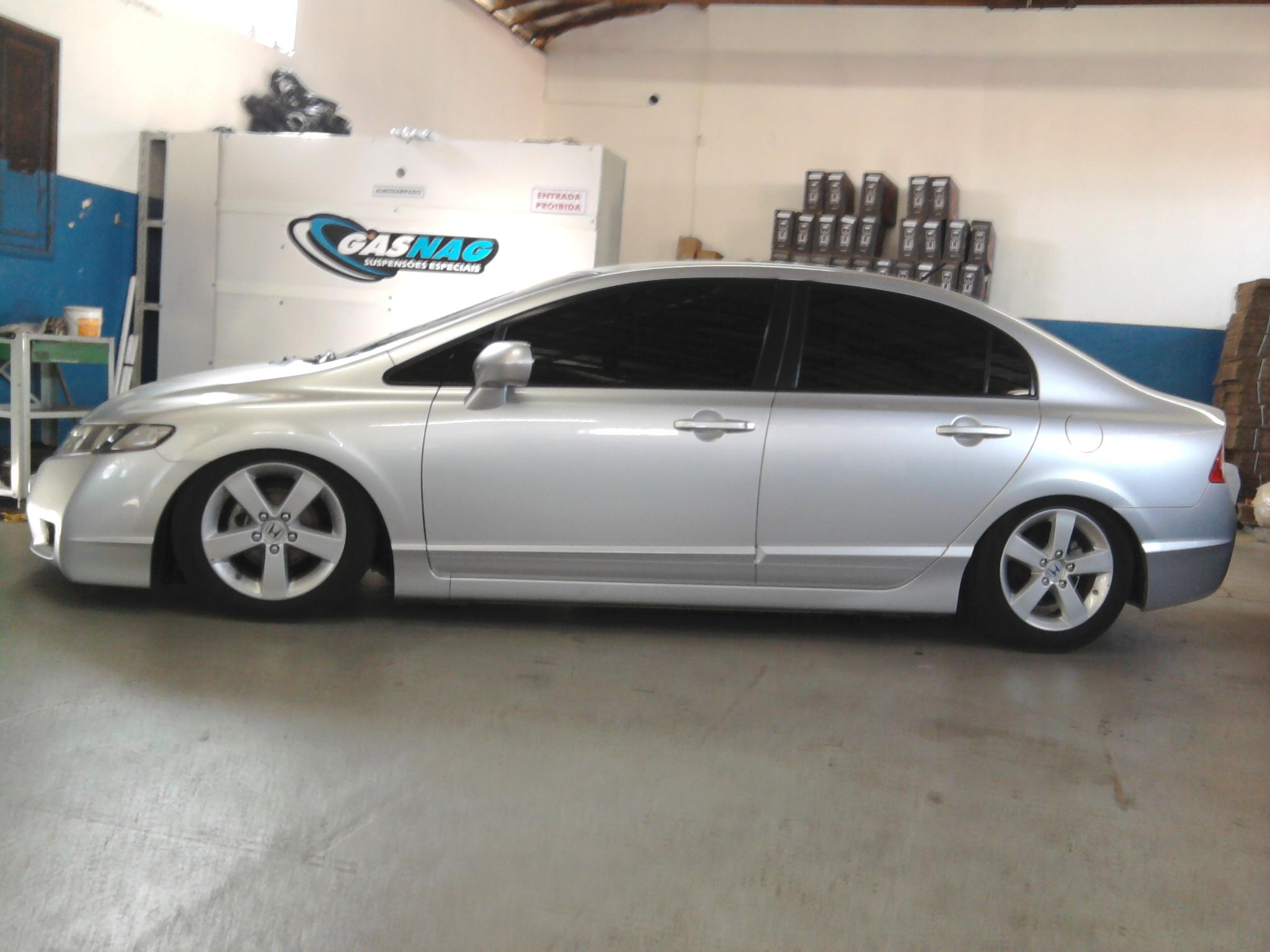 New Civic Supens 227 O A Ar Gasnag Suspens 245 Es
