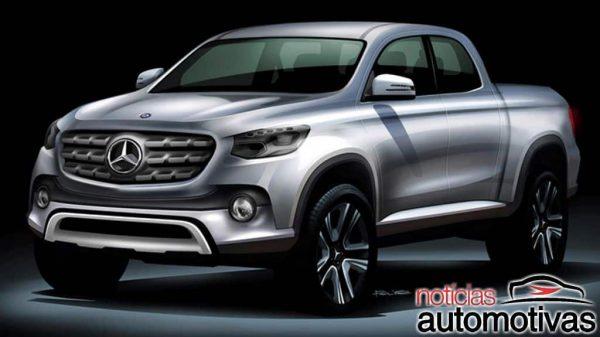 Mercedes-Benz: Picape aparece no dia 25 e ao público no Salão do Automóvel, segundo franceses