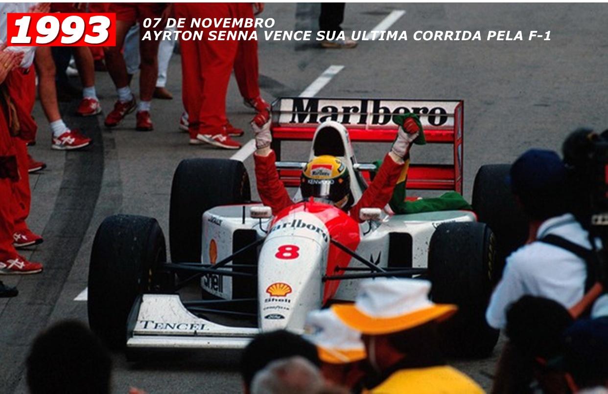 Ultima vitoria do nosso Heroi Ayrton Senna