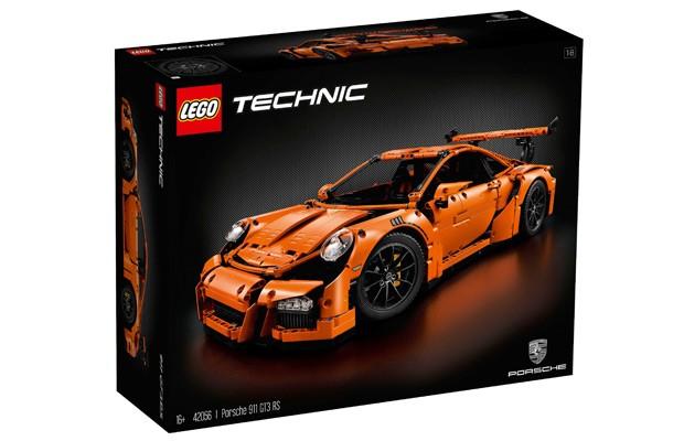 Brinquedo ou obra de arte? Veja o incrível Porsche 911 GT3 RS de LEGO