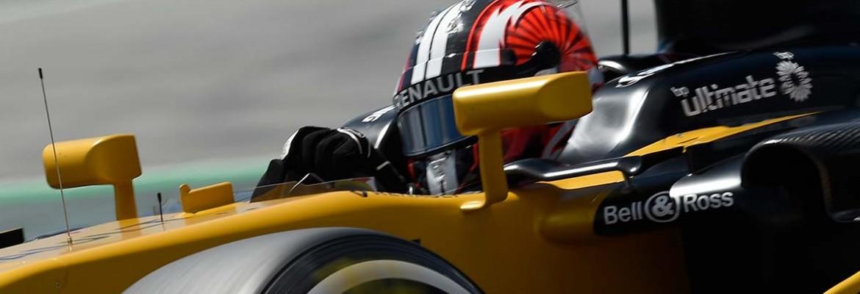 Renault colocou os dois carros no top 10