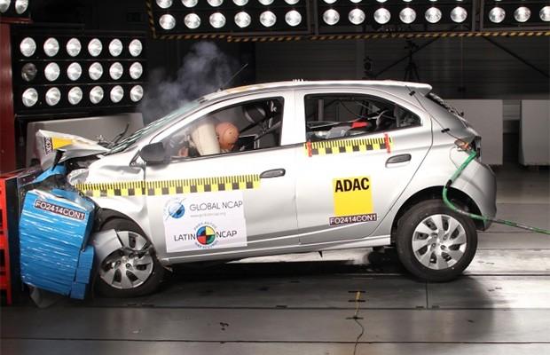 Carro mais vendido do Brasil recebeu nota 0 em teste de segurança