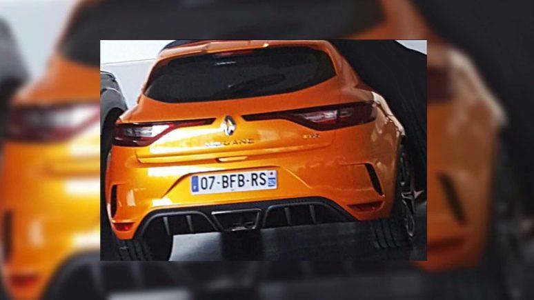 Vazou! – Renault Mégane RS 2018 aparece antes da estreia