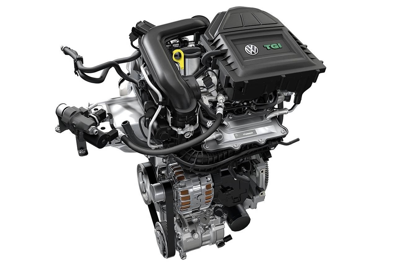 Volkswagen mostra o motor TGI, um 1.0 TSI convertido para GNV