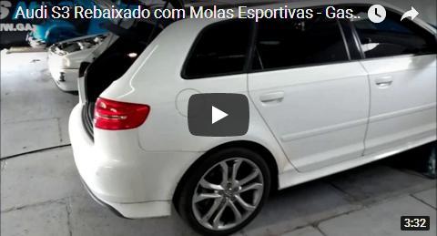 Audi S3 Com Molas Esportivas
