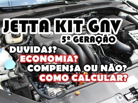 Jetta 2.0 com Kit Gnv 5º Geração