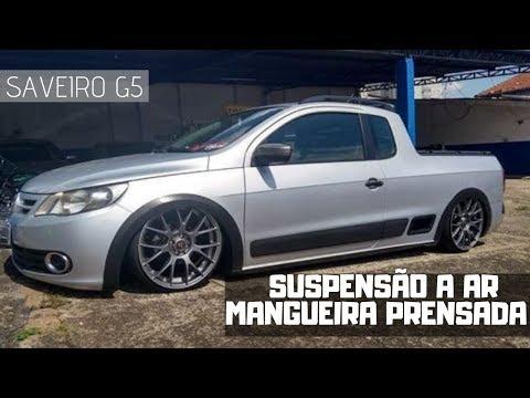 Saveiro G5 Reinstalação Kit Ar Mangueira Prensada